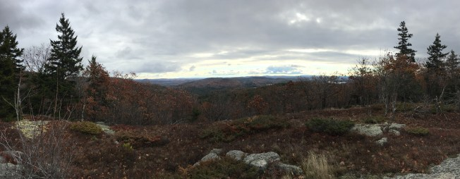 Great view from a little spur off of the Mack Ridge trail.