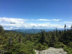 Looking east-southeast from the summit - I believe that prominent peak in the distance is Kearsarge North.