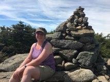 Huge cairn on South Kinsman.