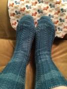 Hoar Frost Socks