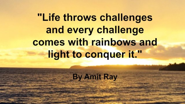 Quote - Amit Ray Challenges