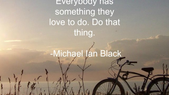 Quote - Do Something by Micheal Ian Black