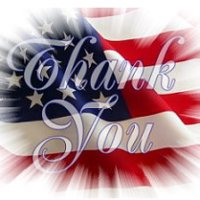 Thank you flag