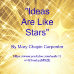 Song - Ideas Are Like Stars by Mary Chapin Carpenter