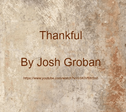 song-thankful-by-josh-groban