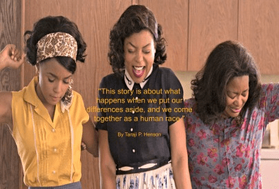 Quote - Differences aside hidden figures