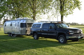 Camping Spot at Fulton County Fairgrounds