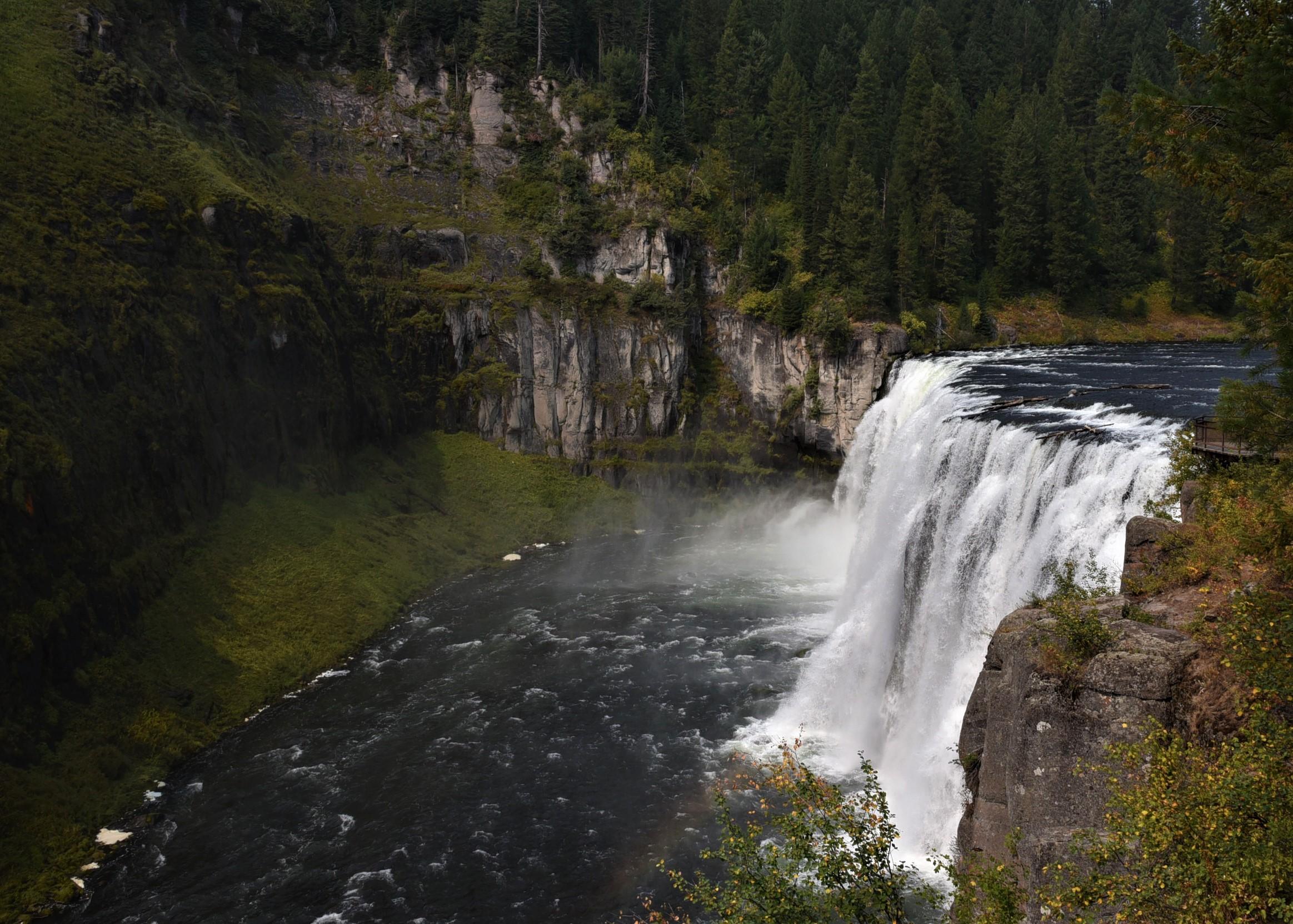 Mesa Falls in Idaho 3  Lynns Reverse Gap Year