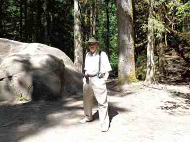 Dave Whitmore still visits his old haunting grounds in Lynn Valley.