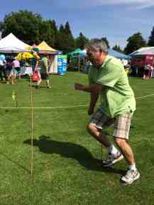 "LVLife sponsoring realtor Kelly Gardiner took a (sadly unsuccessful) run at top time for the SuperKids Obstacle Course Masters category. He was doing well until it was time to ""skip his age""!"