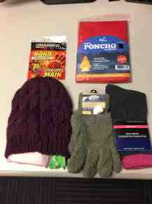 Womans's Homeless package