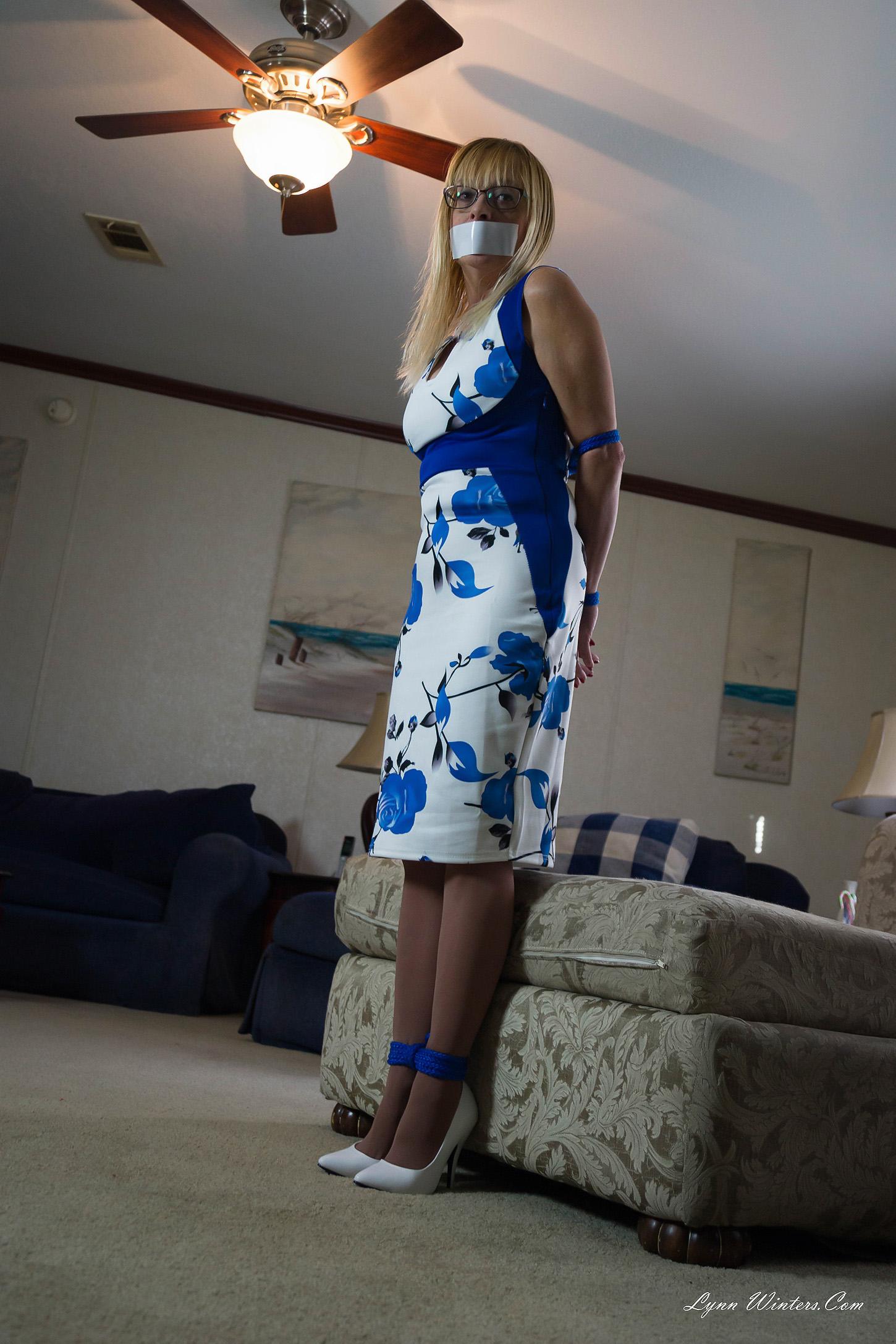 LynnWinterscom  Bondage Glamour Pantyhose
