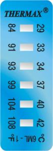 cintas para medicion de temperatura thermax