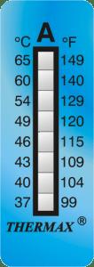 CINTAS para medicion de temperatura
