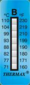 cinta para medicion de temperatura THERMAX