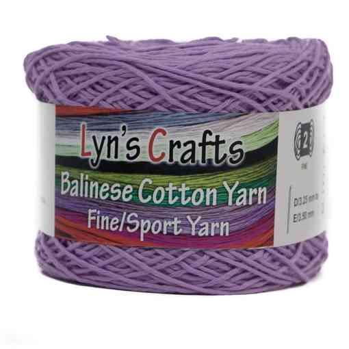 Lavender Sport Weight Yarn