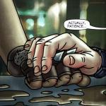 hand holding lynsey g jayel draco oneshi press justice anthology
