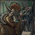lynsey g jayel draco masked vigilante great dane dog pack justice anthology