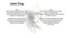 Loose Flag - LYRICS - (c) Lyn V. Conary