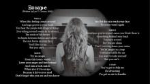 Escape - LYRICS - (c) Lyn V. Conary