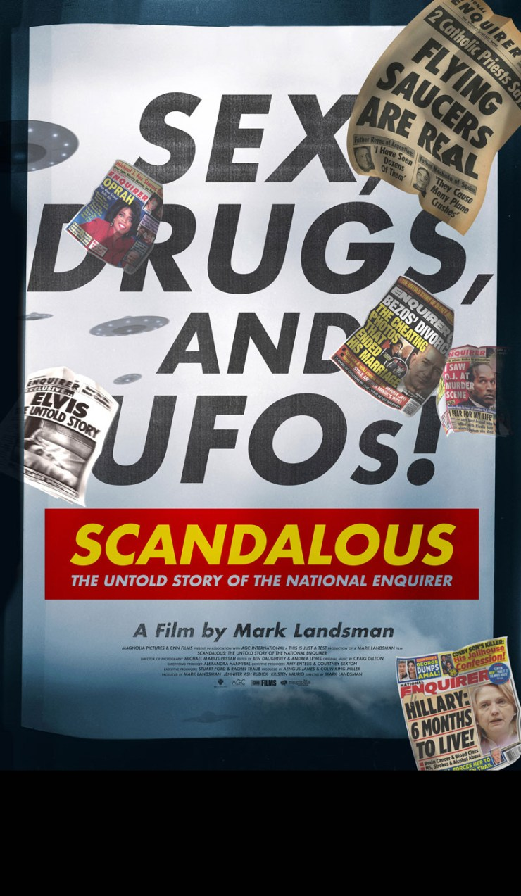 'Scandalous': National Inquirer sets the Standard for Questionable News Coverage