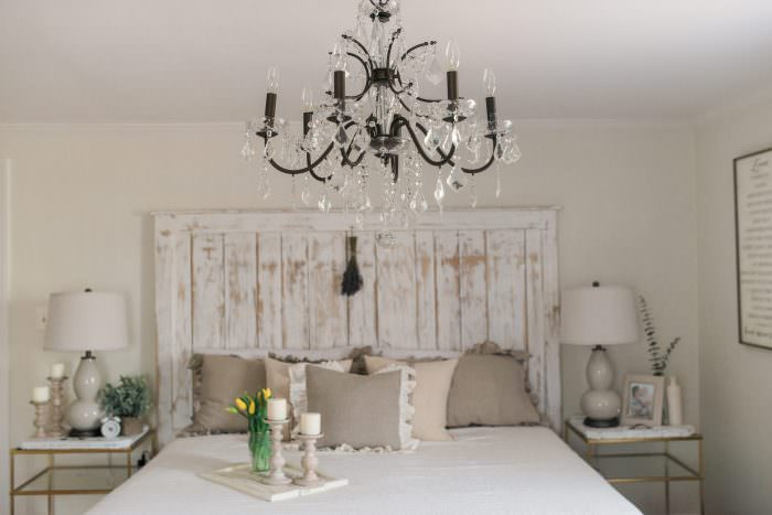 French Country Farmhouse Decor // Our Bedroom