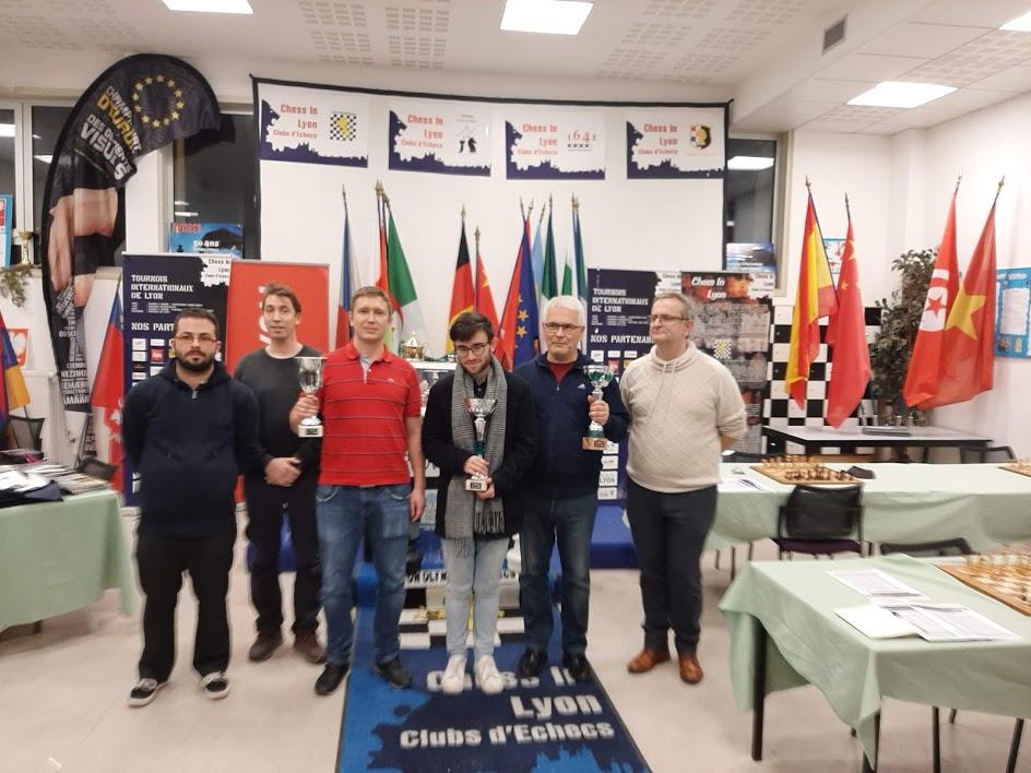 14ème Trophée International de Lyon les 3 premiers