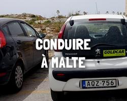 Conduire à Malte