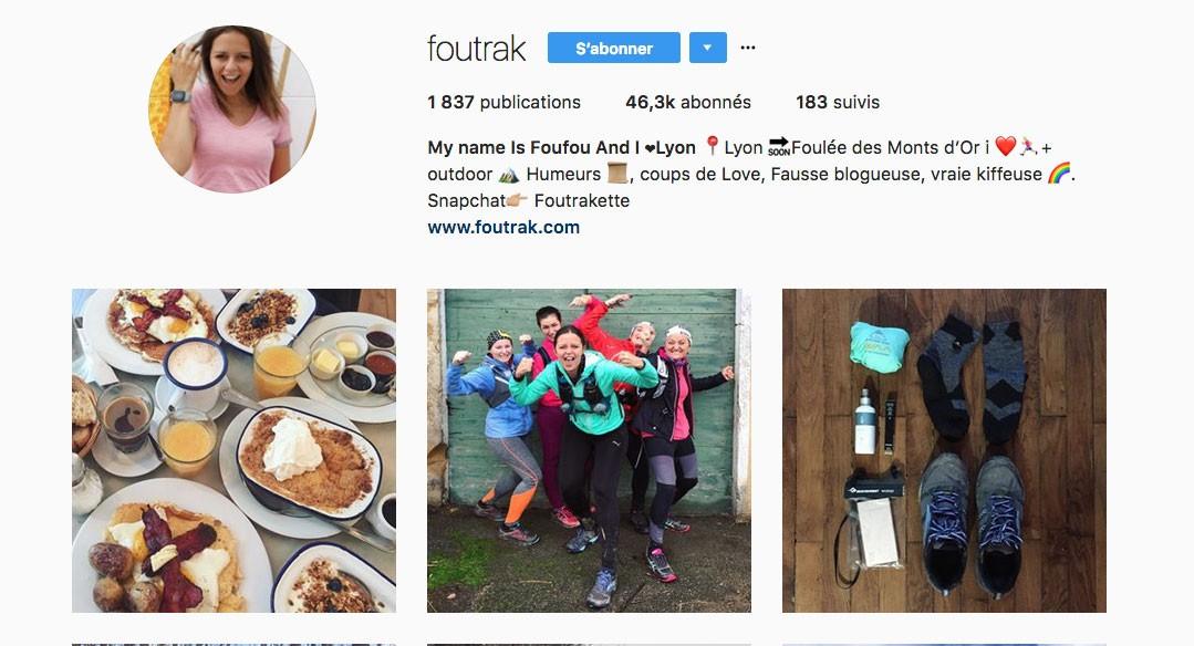 Instagram running Lyon