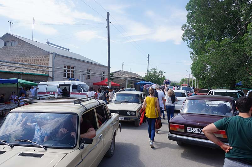 city guide weekend Erevan