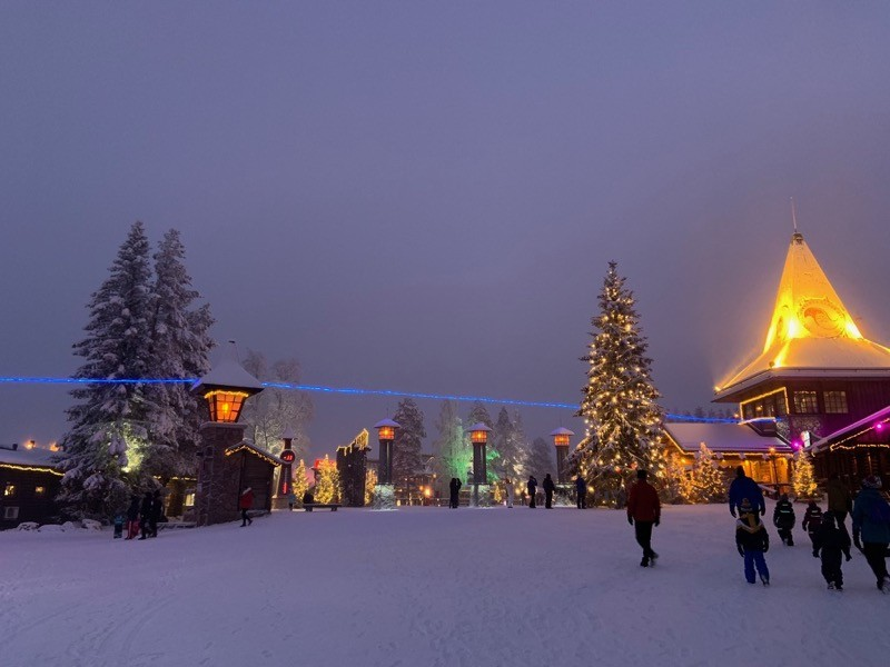 Cercle Polaire Village du Père Noël