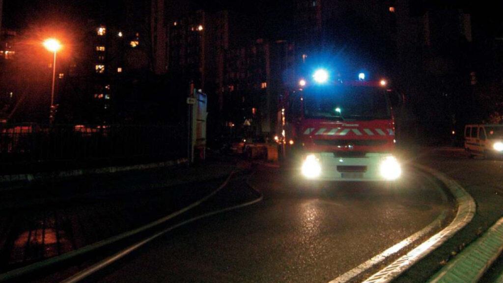 Près de Lyon : un incendie ravage deux maisons mitoyennes