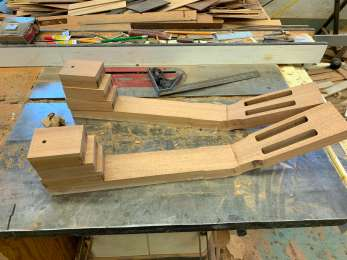 necks are glued up and ready to be shaped