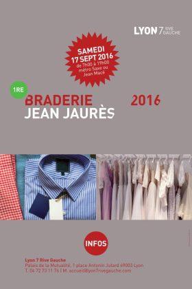 1re braderie de l'avenue Jean Jaurès