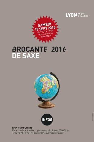 Brocante de l'avenue Maréchal de Saxe le samedi 17 septembre