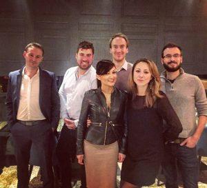 L'équipe de la nouvelle agence du 7e !