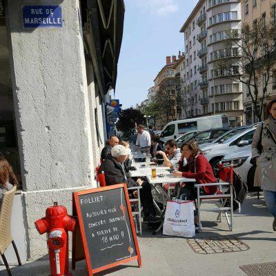 terrasse rue Chevreul