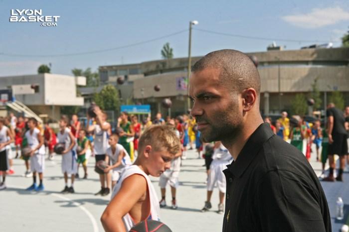 Tony Parker Camp Villeurbanne 2013