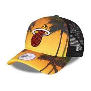 CASQUETTE TRUCKER SUMMER CITY NBA MIAMI HEAT