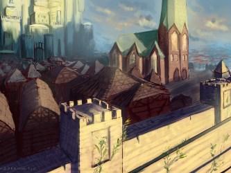 Medieval Castle Town Lyraina s Artblog