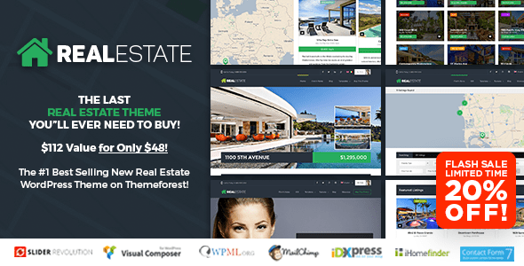 WP Pro Real Estate 7 - Responsive Real Estate WordPress Theme
