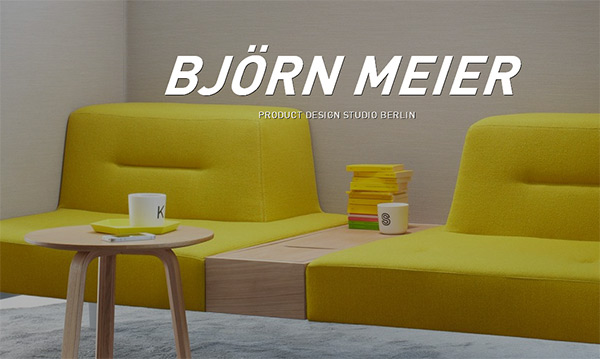 Bjorn Meier in 28 Websites with Stunning Flat Design