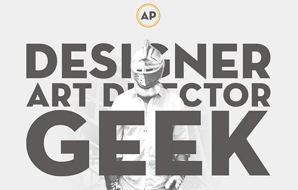 Alex Pierce in 45 Modern Minimal Websites