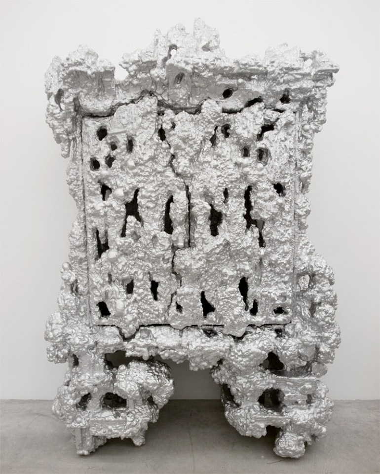 ALUfoil cabinet by Christopher Schanck in Showcase of Creative Furniture Designs