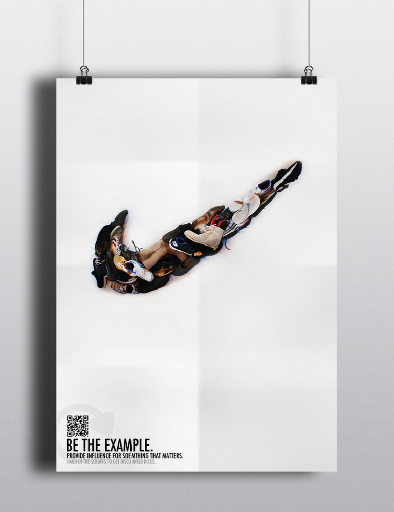 Be The Example by Caitlin Walsh in Showcase of Creative Nike Advertisements