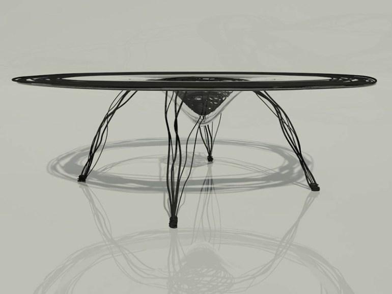 Freehand Table by Agnieszka Ciesielska in Showcase of Creative Furniture Designs