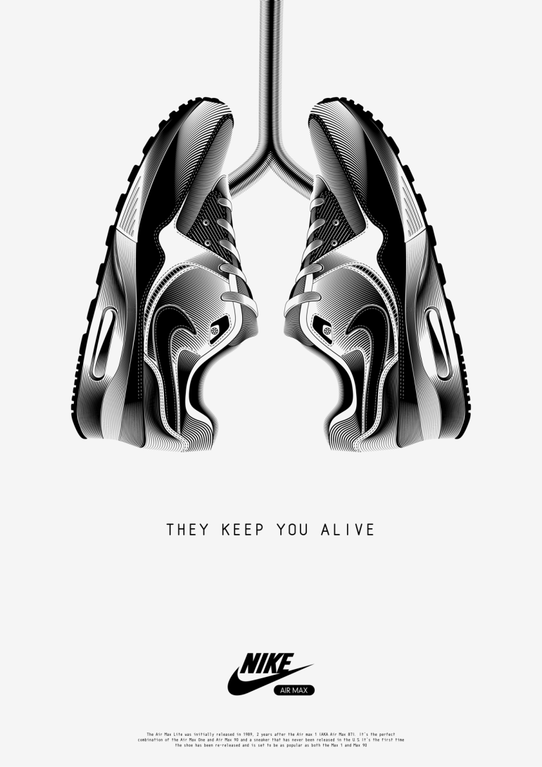 They Keep You Alive by Anton Burmistrov in Showcase of Creative Nike Advertisements