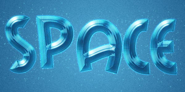 Create Space Style Text Effect in 40 Creative Photoshop Text Effect Tutorials