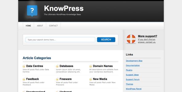 KnowPress Knowledge Base/Wiki for WordPress