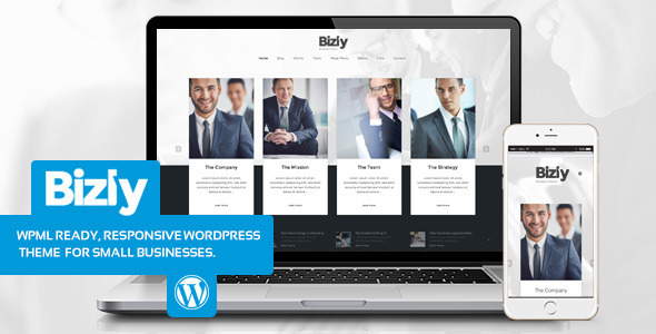 Bizly - Lawyer and business theme for small companies
